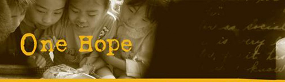 Donate Bibles | One Hope Project