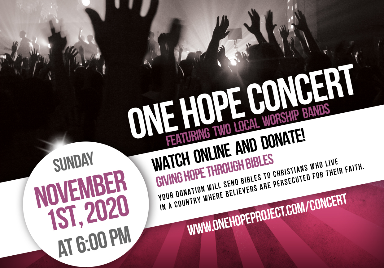 One Hope Concert 2020